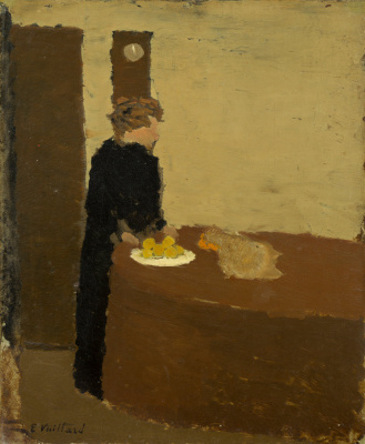 Jean Edouard Vuillard. Woman in Black