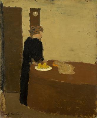 Jean Edouard Vuillard. Woman in Black