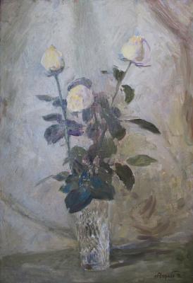 Николай Дмитриевич Чурабо. Белые розы