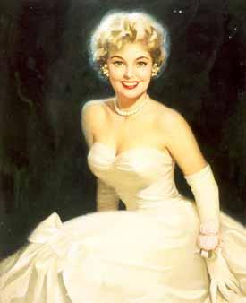 Уолт Отто. Девушка в белом платье