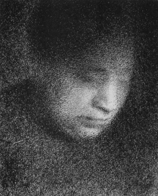 Georges Seurat. The artist's mother