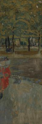 Jean Edouard Vuillard. The Garden of La Muette à Passy, Paris