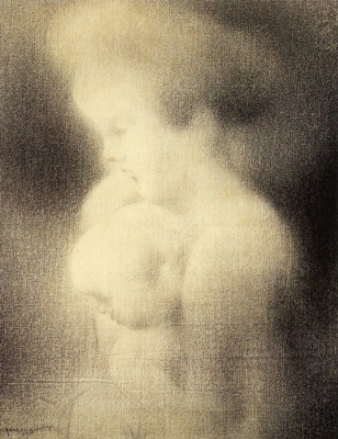 Шарль Ангран. Мать и дитя