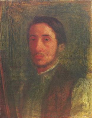 Эдгар Дега. Автопортрет в коричневом жилете