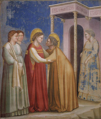 Giotto di Bondone. Visit Scenes from the Life of the Virgin