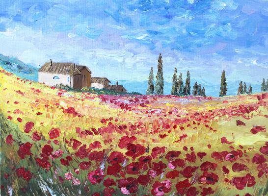 Vasilisa Viktorovna Perestoronina. Poppy Valley