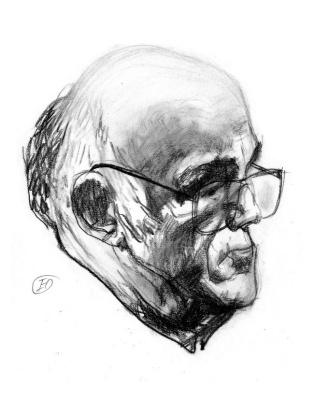 Gennady Dmitrievich Novozhilov. Considered Sviatoslav Richter, 1983