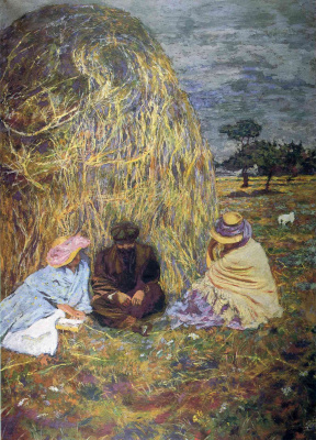 Jean Edouard Vuillard. Haystack