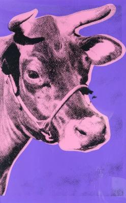 Andy Warhol. Cow
