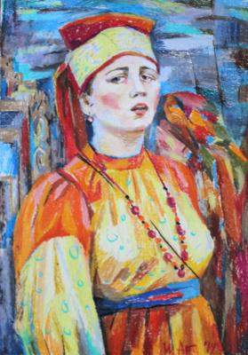 Irina Valerievna Antonovskaya. Singing woman