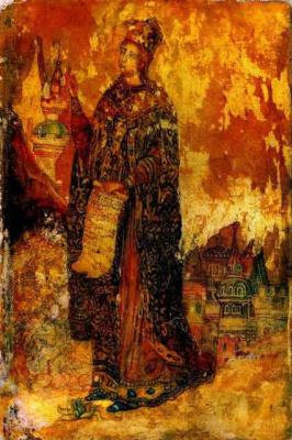 Павел Николаевич Филонов. Св. Екатерина