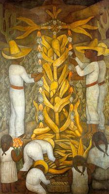 Диего Мария Ривера. Праздник кукурузы