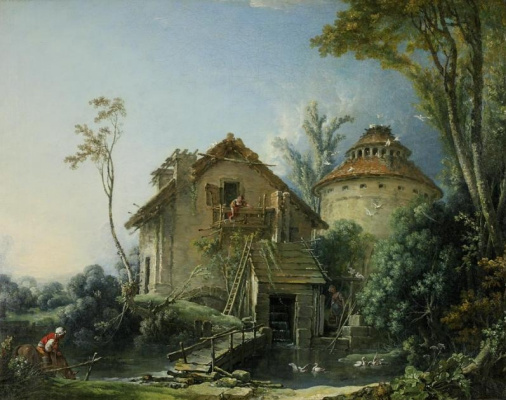 Francois Boucher. Farm