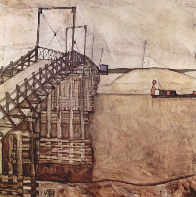 Egon Schiele. Bridge