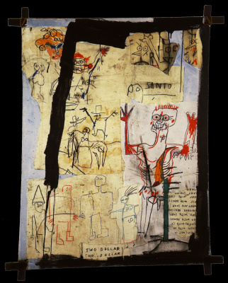 Jean-Michel Basquiat. Holy vs Second Avenue