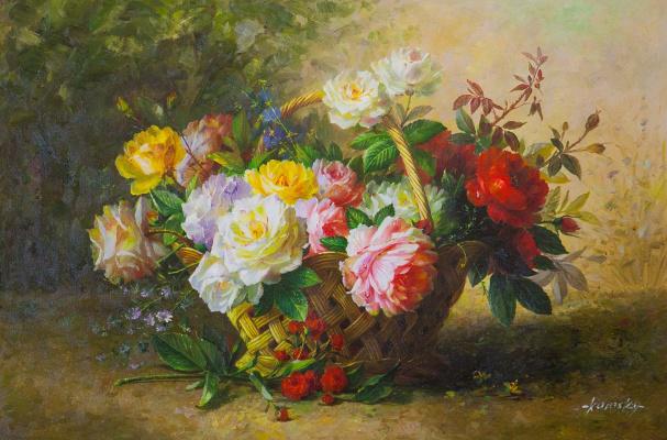 Saveliy Kamsky. Basket of roses