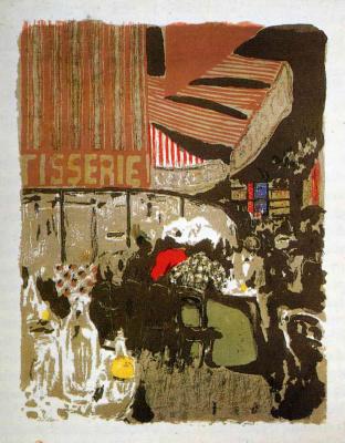 "Jean Edouard Vuillard. ""Landscapes and interiors"". Patisserie"