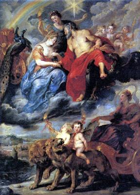 Peter Paul Rubens. Meeting in Lyon
