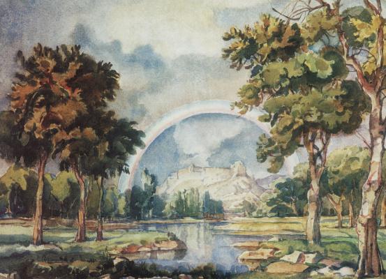 Konstantin Fedorovich Bogaevsky. Rainbow