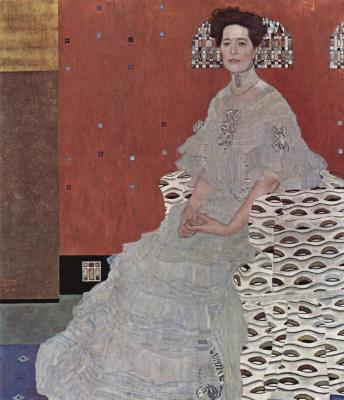 Gustav Klimt. Portrait Of Fritza Riedler
