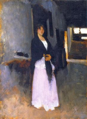 Джон Сингер Сарджент. Венецианская женщина