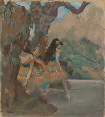 Эдгар Дега. Балерины
