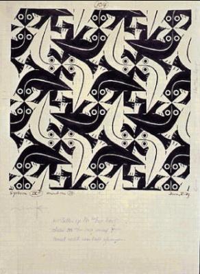 Maurits Cornelis Escher. Lizard (№ 104)