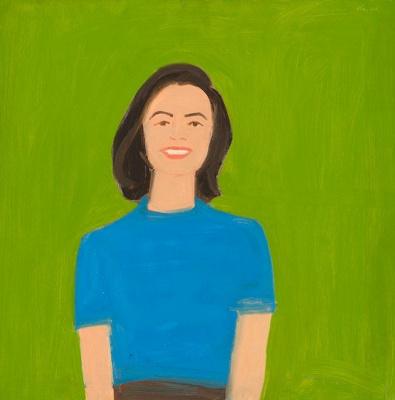 Alex Katz. Portrait Of Ada