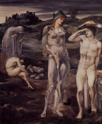 Edward Coley Burne-Jones. Summon Perseus
