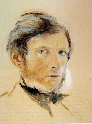 John Ruskin. Self-portrait