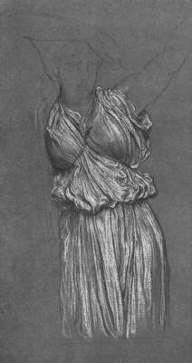 Frederic Leighton. Drapery