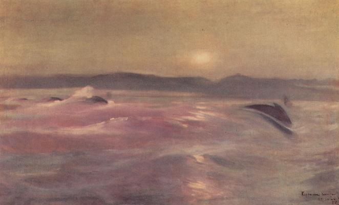 Konstantin Korovin. North sea