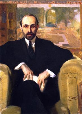 Хоакин Соролья (Соройя). Хуан Рамон Хименес