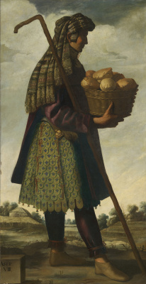 """Francisco de Zurbaran. Asher in the series, """"Jacob and his twelve sons"""""""