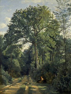 Camille Corot. Edge of the forest in Wil d'Avray