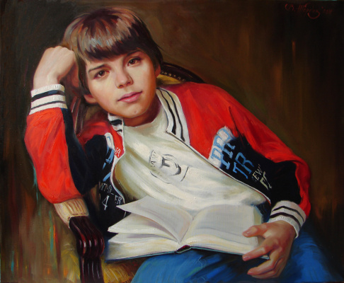 Виталий Викторович Жердев. Portrait of Deniski
