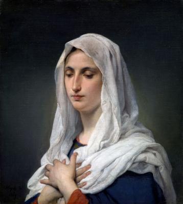 Франческо Айец. Оранта. 1869