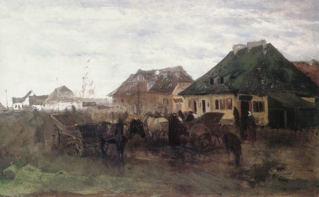 Максимилиан Гиеримски. Весна в маленьком городе