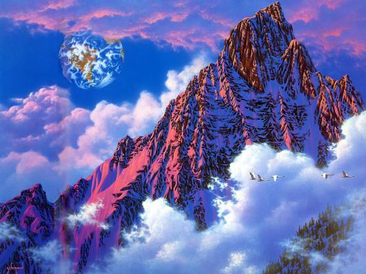 Уильям Шиммел. Туман