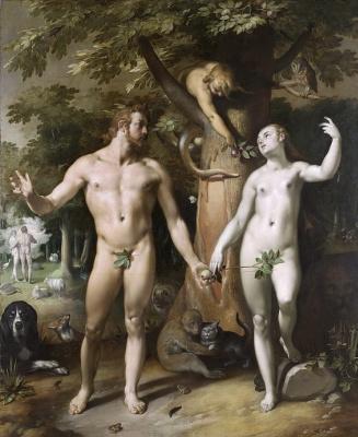 Cornelis van Haarlem. The fall