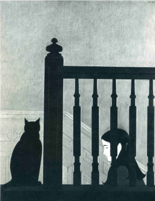 Will Barnet. The fence