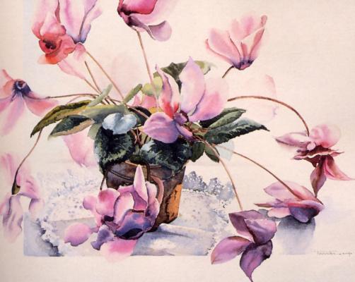 Тереза Фурнье. Цветы