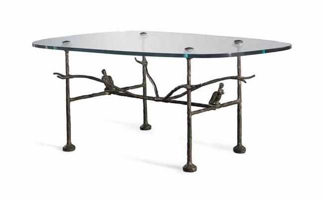 Альберто Джакометти. Дизайн стола с гарпиями