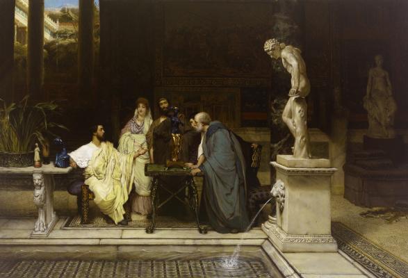 Лоуренс Альма-Тадема. Римский любитель искусства