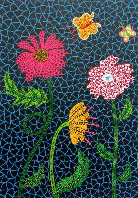 Yayoi Kusama. Flowers By Yayoi Kusama