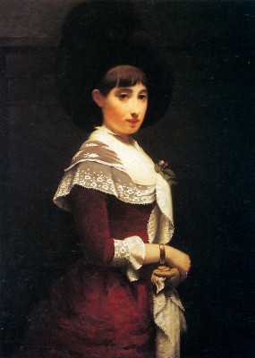 Якоб де Хаан. Молодая женщина