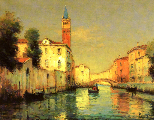 Ноэль Бувар. На Венецианском канале
