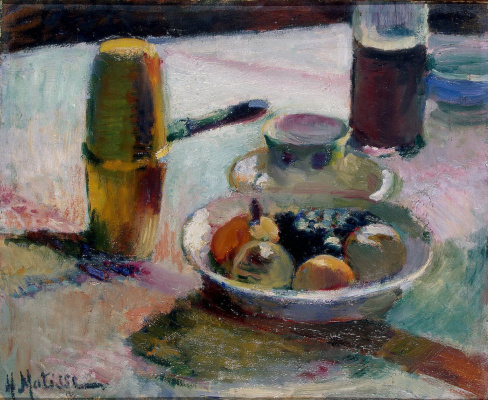 Henri Matisse. Fruit and coffee pot