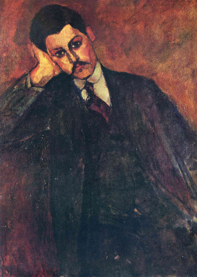 Amedeo Modigliani. Portrait Of Jean Alexander