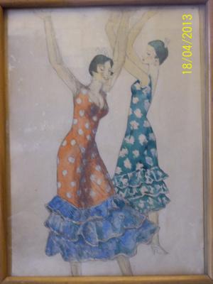 Р.И.  Стуруа. Испанский танец
